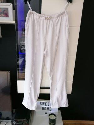 Weite weiße Hose, Größe 38