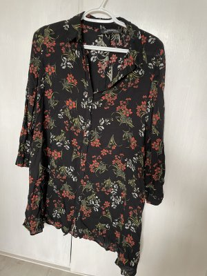 Zara Oversized blouse zwart