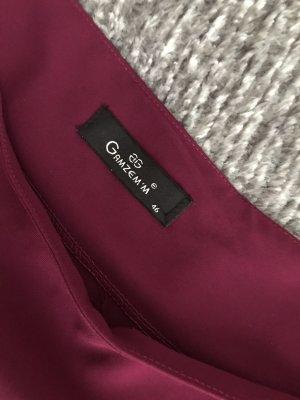 Spodnie Marlena malina-purpurowy