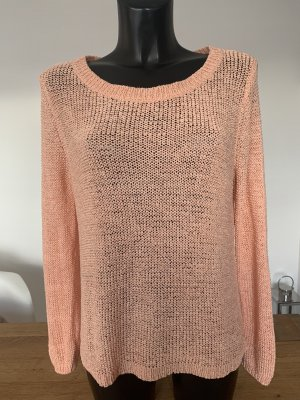 H&M Oversized Sweater salmon-apricot