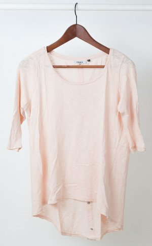 Weites T-Shirt in blush pink