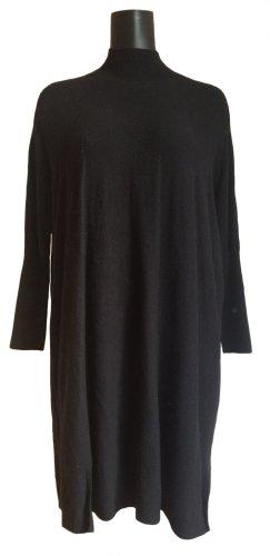 Asos Robe en laine noir coton