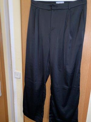 Mango Jersey Pants black
