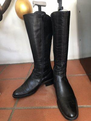 Botas de pantorrilla ancha negro