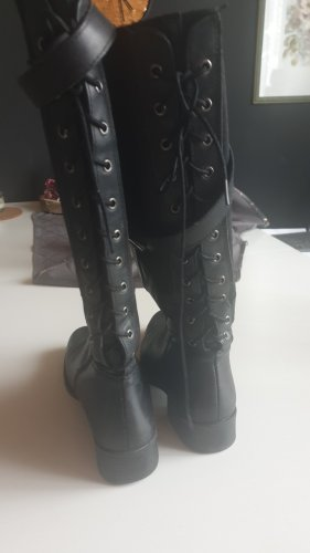 Wide Calf Boots black