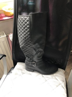 Wide Calf Boots black