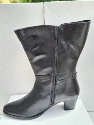 Sheego Bottes à tige large noir