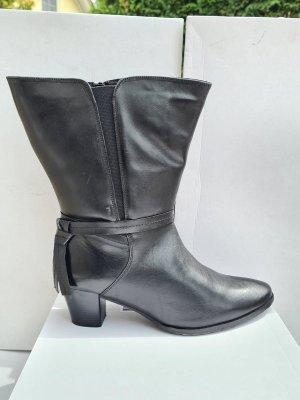 Sheego Wide Calf Boots black