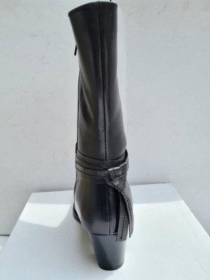 Sheego Bottes à tige large noir cuir