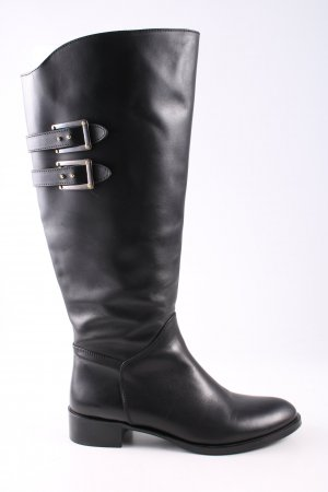jilsen Wide Calf Boots black casual look