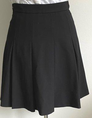 Esprit Plaid Skirt black viscose