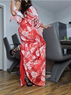Guess by Marciano Sukienka dresowa biały-czerwony