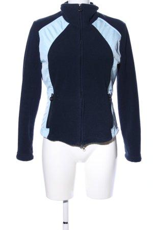 Wellensteyn Fleecejacke blau-schwarz sportlicher Stil