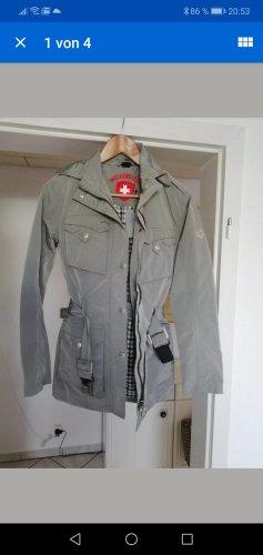 Wellensteyn Veste militaire argenté-gris clair