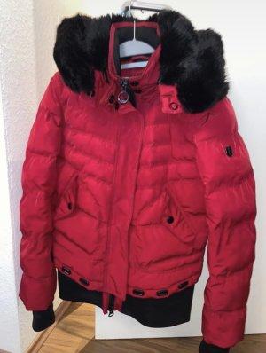 Wellensteyn Kurtka zimowa czerwony-czarny