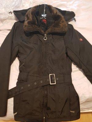 Wellensteyn Kurtka zimowa czarny-brązowy