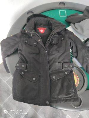 Wellensteyn Płaszcz z kapturem czarny