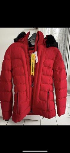Wellensteyn Giacca invernale nero-rosso