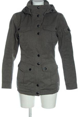 Wellensteyn Giacca con cappuccio nero-bianco stampa integrale stile casual