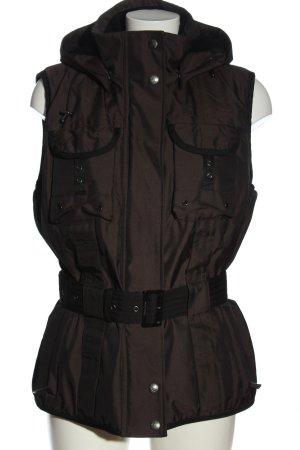 Wellensteyn Hooded Vest brown casual look