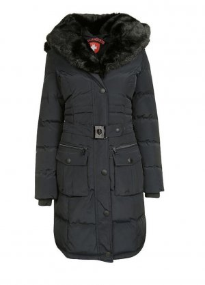 Wellensteyn Hooded Coat dark blue