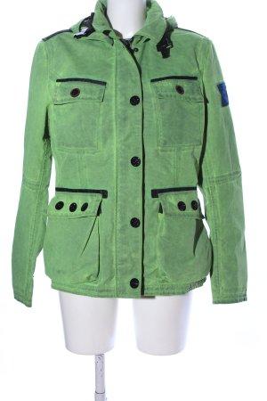 Wellensteyn Outdoorjacke grün-schwarz Casual-Look