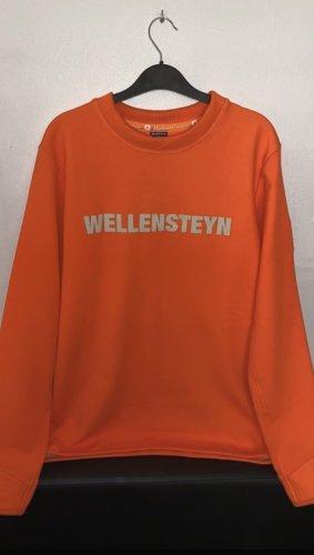 Wellensteyn Pullover mit Aufdruck, orange