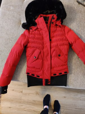 Wellensteyn Winter Jacket dark red-black mixture fibre