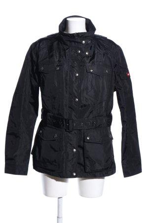 Wellensteyn Raincoat black casual look