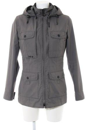 Wellensteyn Raincoat light grey casual look