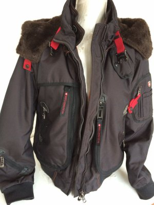 Wellensteyn Outdoor Jacket black brown-dark red