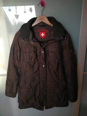 Wellensteyn Schneezauber Winterjacke Jacke Größe S braun