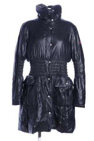 Wellensteyn Cappotto trapuntato nero stile casual