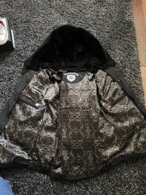 Wellensteyn Giacca invernale nero-argento