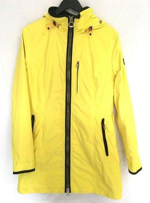 Wellensteyn Manteau de pluie jaune-noir polyamide
