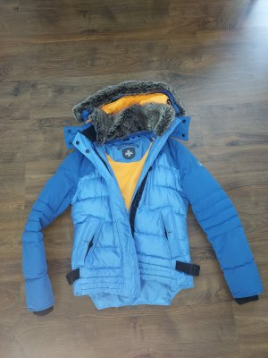 Wellensteyn Giacca invernale arancione-azzurro