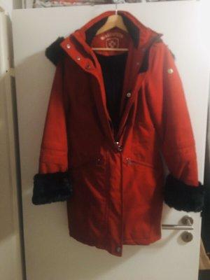 Wellensteyn Manteau d'hiver rouge