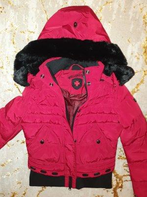 Wellensteyn Winterjacke Queens Größe M rot