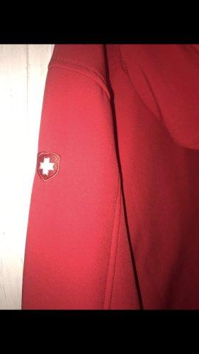 Wellensteyn Raincoat white-red