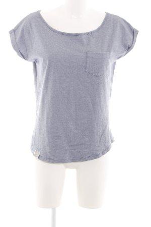 Wemoto Ringelshirt blau-weiß meliert Casual-Look