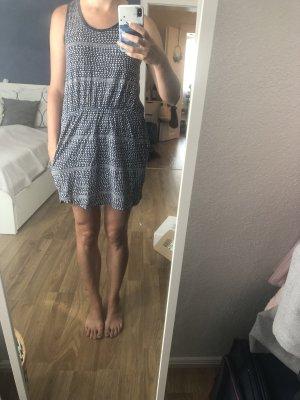 WEMOTO Sommerkleid blau gemustert Gr. S
