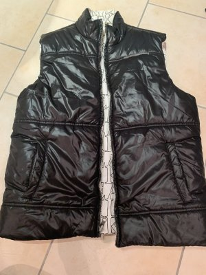 Calvin Klein Down Vest black-white