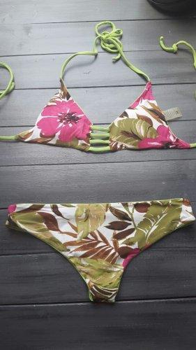 Khongboon Bikini multicolored nylon