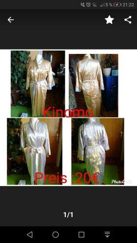 Kimono bianco-giallo