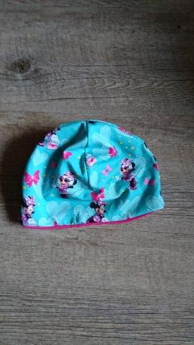 handmade Fabric Hat pink-turquoise