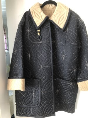 Escada Reversible Jacket black-sand brown mixture fibre