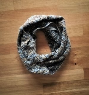 keine Knitted Scarf multicolored wool