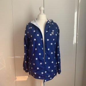 Adidas Originals Omkeerbaar jack wit-blauw Polyester