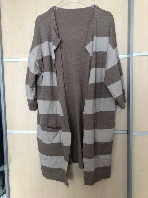 Windsor Short Sleeve Knitted Jacket cream-beige
