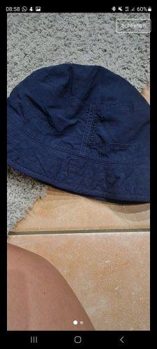 Schöffel Cappello parasole crema-blu scuro